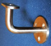 Držák konzole madla s rovnou plochou, schodišťového zábradlí na zeď