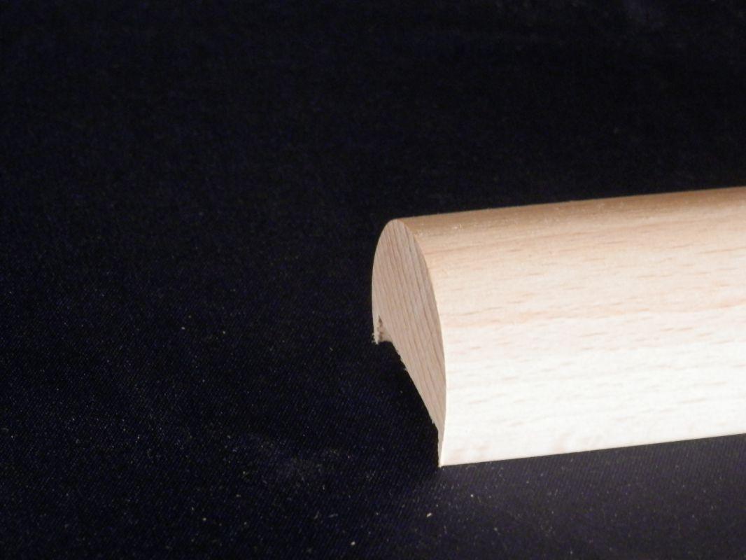 Madla zábradlí na schodiště dřevěná MADLO ZÁBRADLÍ DŘEVĚNÉ BUK PRŮMĚR Ø 35 mm DO MATEŘSKÝCH ŠKOLEK KULATÉ S DRÁŽKOU SCHODIŠŤOVÉ NA ZEĎ Madla zábradlí na schodiště dřevěná