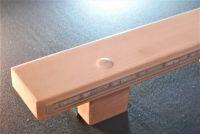 Madla zábradlí na schodiště dřevěná ZÁBRADLÍ-MADLO S LEDKOVÝM OSVĚTLENÍM DŘEVĚNÉ SCHODIŠŤOVÉ NA ZEĎ NA SCHODY BUK 10 X 4CM /www.zabradli-madla.e Madla zábradlí na schodiště dřevěná
